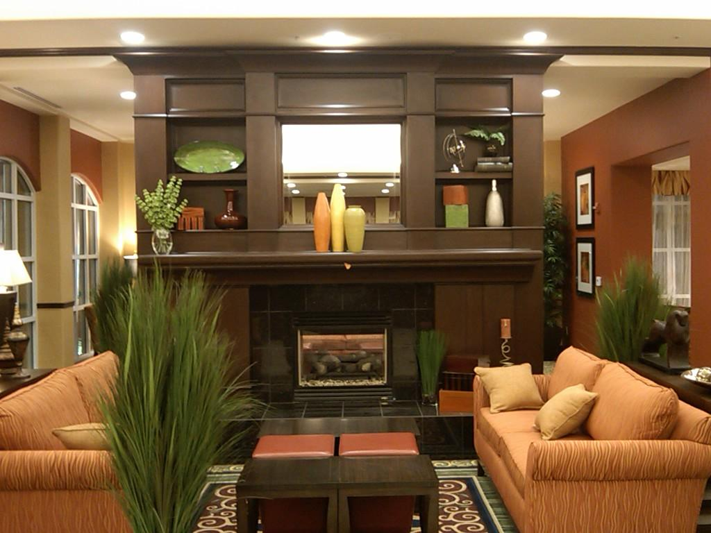 Custom Commercial Entertainment Center pictures