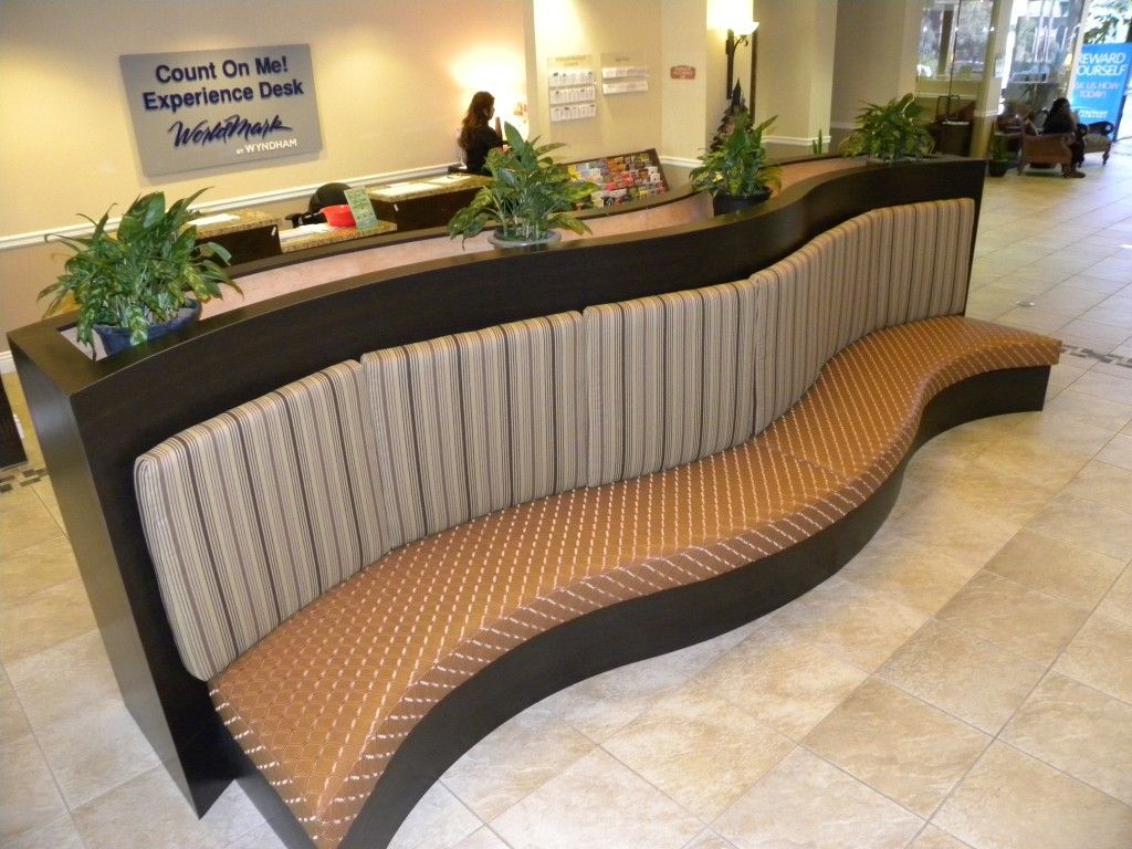 Wyndham Hotel Lobby Bench