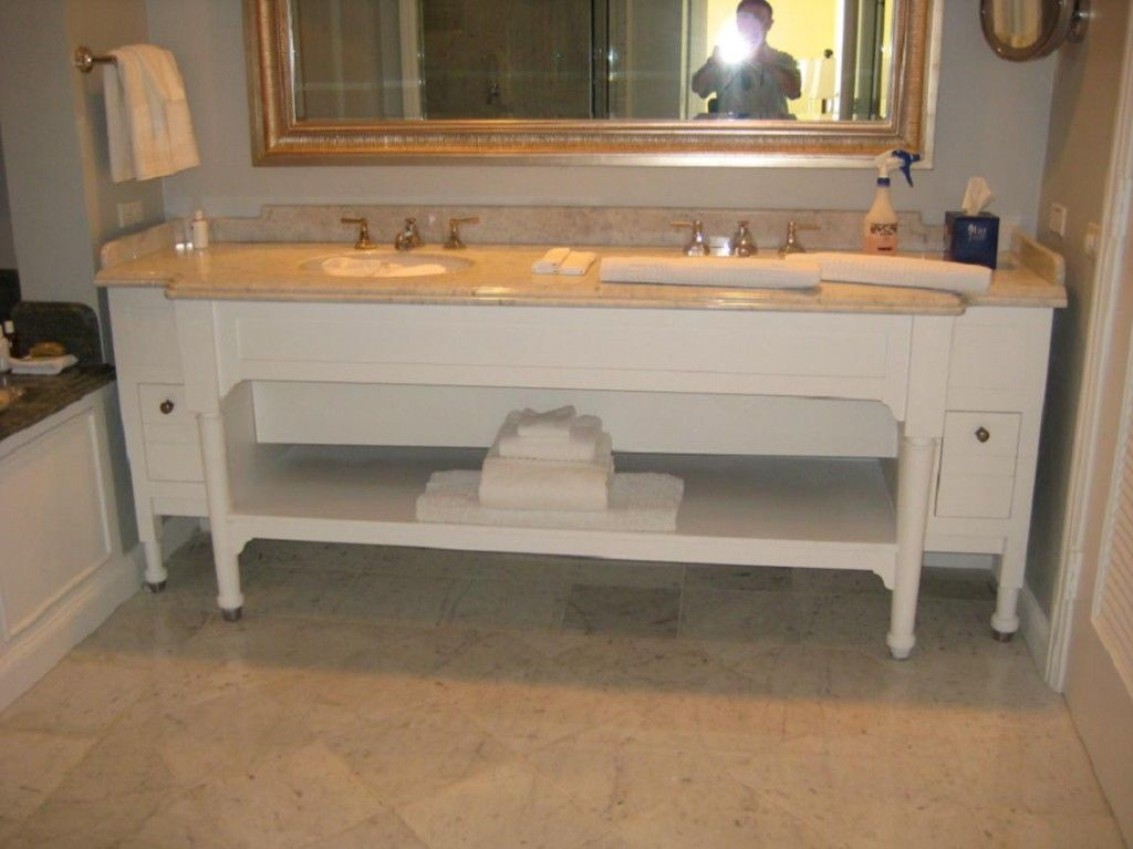 Montage Hotel Resort bathroom cabinets