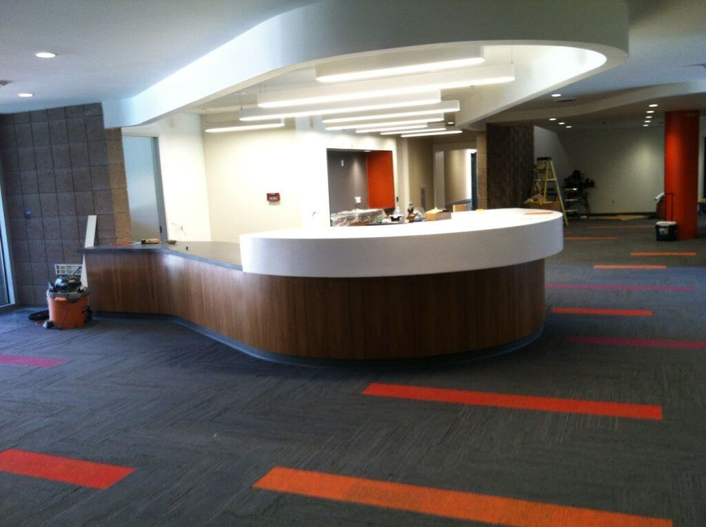 Santa Cruz UCSB Reception area remodel