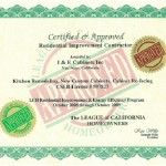 League of California Homeowners Certification