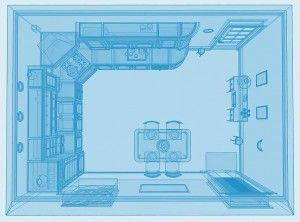 Kitchen Design Blueprint