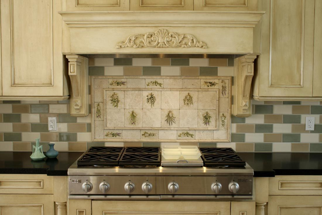 Stove backsplash ideas ie cabinets dailygadgetfo Choice Image