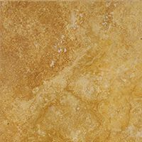 Gold Travertine Cross Cut honed polished tile