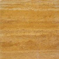 Gold Travertine Vein Cut honed and polished tile