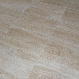 Travertine flooring vein cut