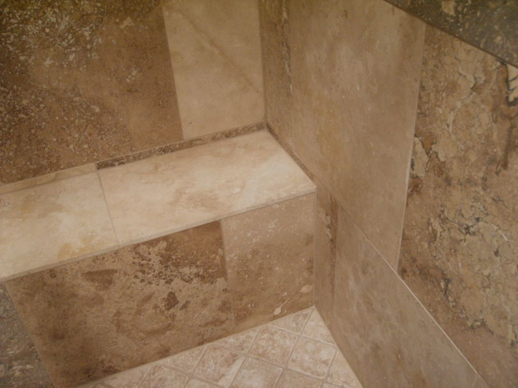 Travertine tile in remodeling compared to marble more walnut travertine tile shower dailygadgetfo Gallery