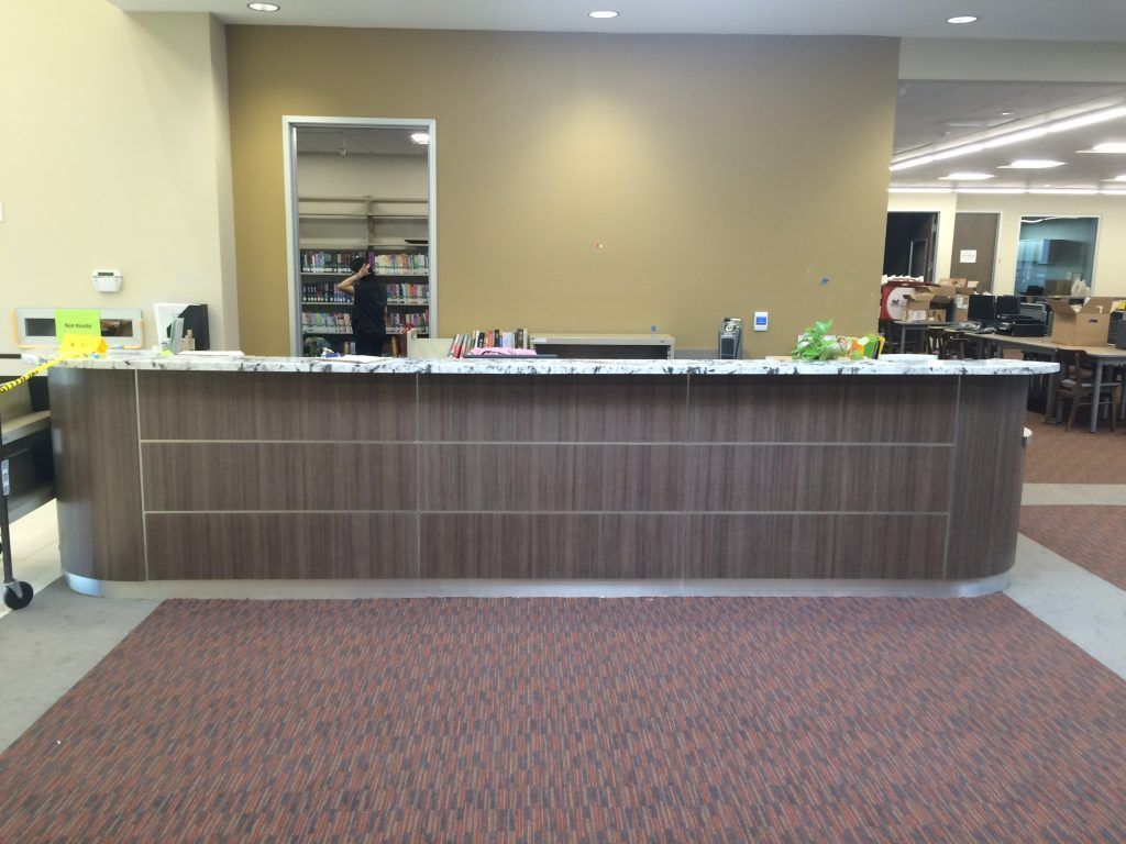 Custom Reception Desks I Amp E Cabinets