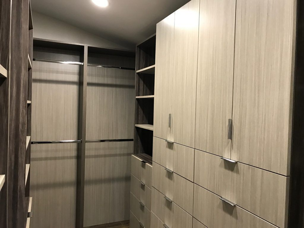 custom closet in light wood color (2)