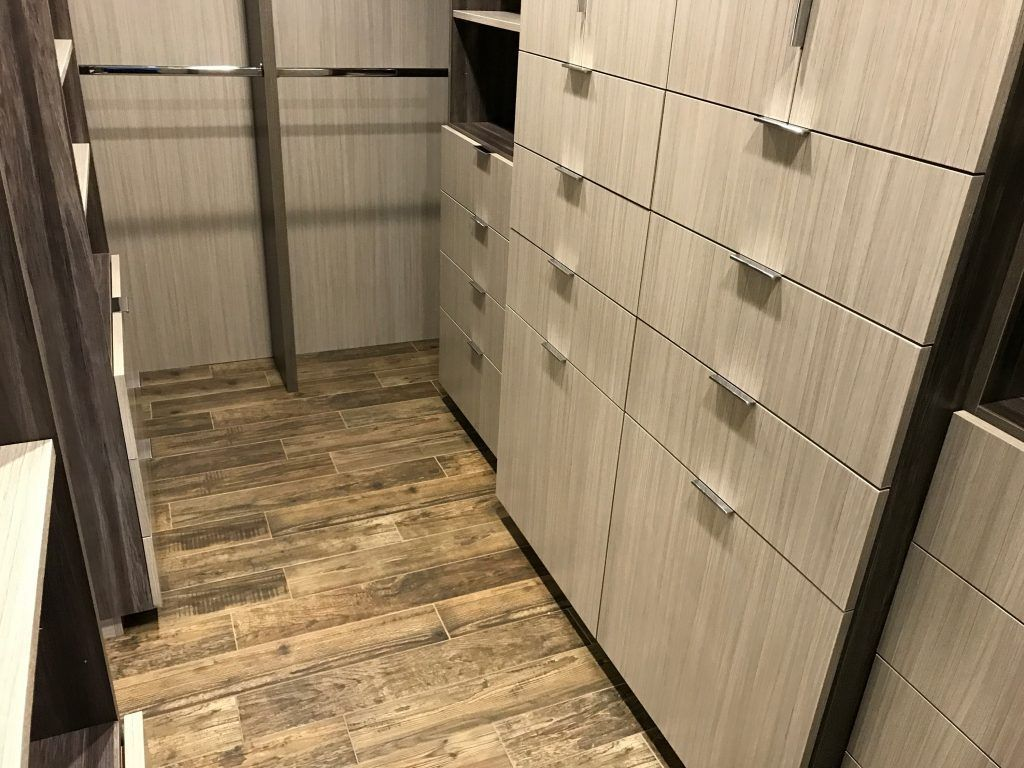 custom closet in light wood color (3)