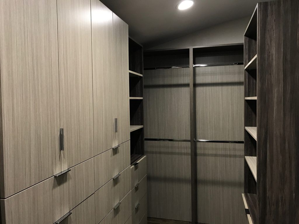 custom closet in light wood color (4)