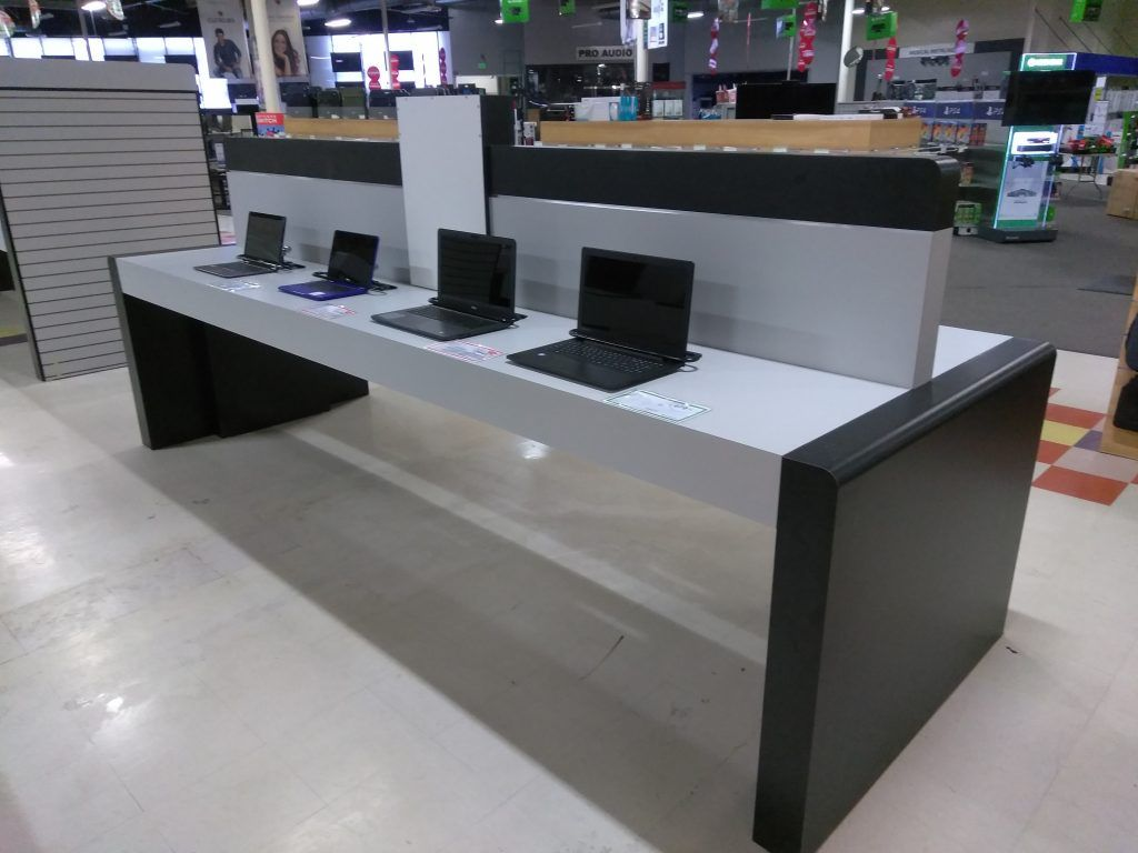 retail electronic display counters (2)
