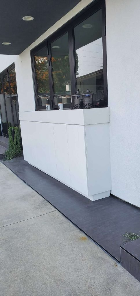 outdoor waterproof cabinet by IE Cabinets
