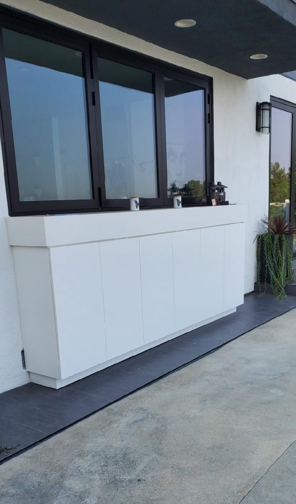 outdoor waterproof cabinet residential