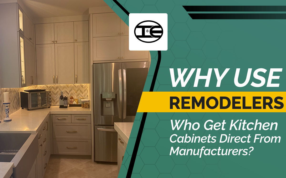 why use kitchen cabinet manufacturers